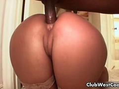 Nice looking blond babe gets