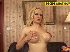 Audrey Argento shows you hot Oil-Games