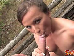 Pov outdoor fucking with nicky sweet film