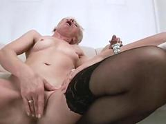 Sexy granny susan lee gets a dose of mature hardcore fucking from a hunk stud movie