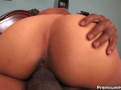 Huge black cock in tight pussy movie