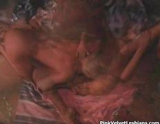 Hot blonde babe goes crazy sucking film