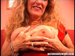 Big boobs mature solo