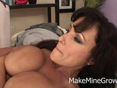 Big Tits MILF Want A Huge Cock On Her Holes