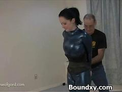 Extreme Humiliation For Slut In Fetish Clothing
