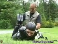 Ruthless Pleasure For Chick In Rubber
