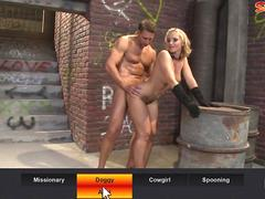 Stranger Fucks  Milfs Ass in Alley
