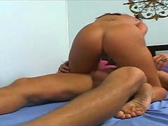 This Hot Babe In love with cock as it penetrates her
