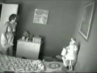 Spy cam of Mum playing with her pussy