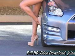Kennedy dress and heels public nudity ftv video 2