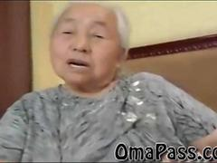 BBW old japanes granny gets fucked