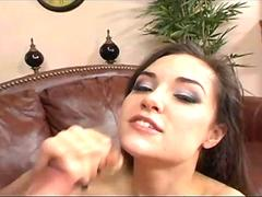 Sasha Grey Deepthroat Gagging Blowjob with Peter North