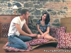 Whatever kind of anal fan you are, you are simply going to love Sandras anal tryout
