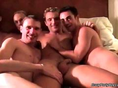 Several naughty gay dudes fucking their brains out