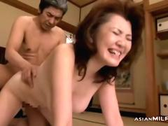 Mature Asian Woman Fucked Hard By Her Husband