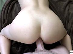 big ass babe is sexy panties gets to fuck