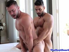 Masseur Arad assfucking Colt Rivers