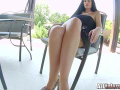 All Internal Beauty April Blue has a perfect body and pussy for cum