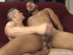 Damien Taylor jumps on studs dick