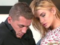 DaneJones Hot blonde beauty fills pussy with her lovers big cock