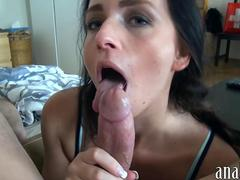 Amateur girlfriend GF ass rammed for the first time