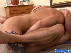 Daddy icon assfucked by hard hunk