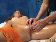 blonde babe loves to get her wet pussy explored