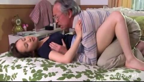 Japanese father in law sex