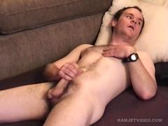 Amateur Straight Boy Paul Beats Off