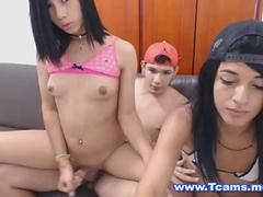 Sizzling Hot Shemales in a Wet and Wild Cam Show