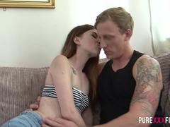 Cumming inside the Polish redhead