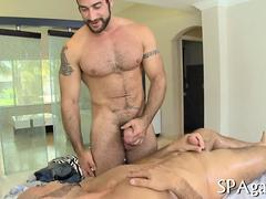 Straight Guy Ass Fucked By Hunky Gay Masseuse
