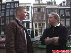 Pussyfucked dutch hooker welcomes tourist