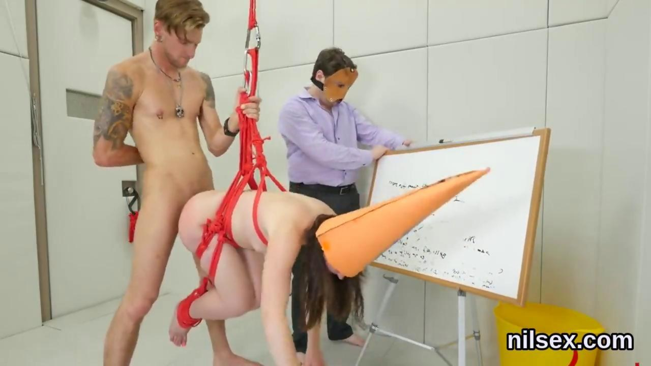 Sex swing doggy style