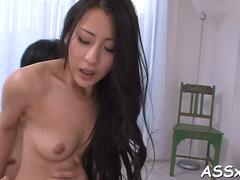 fantastic japanese anal riding porn
