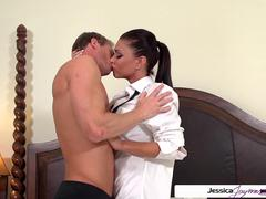 Jessica Jaymes is ready and horny to get fucked by Ryan