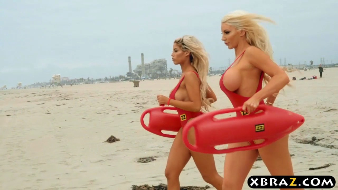 Naked lifeguards with big tits foto 975