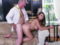 Two old and man gangbang young creampie xxx Ivy impresses with her ginormous fun bags and