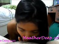 Heather Deep snack time amazing swallow