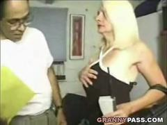 Pretty Face Granny Tries Anal Sex With Big Cock