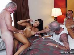 Granny and hot midget blowjob Staycation with a Latin Hottie