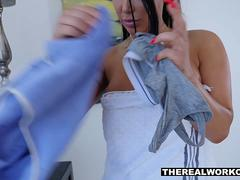 TeamSkeet - Hot Babe August Taylor Fucked After Workout