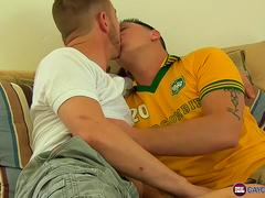 Palmer Fitch and Toby Lockwood having a passionate sex date