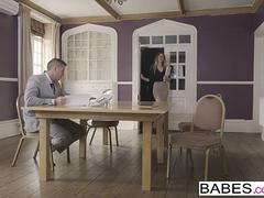 Babes - Office Obsession - Ladies Room Love starring Marc Rose and Tamara Grace clip