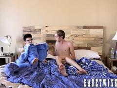 Kyle Rhodes and Cameron Hilander know what to do in bed