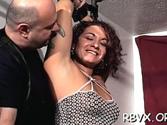Slut loves nipple pinching