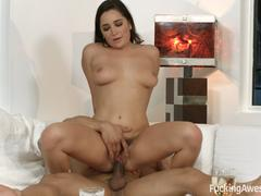 Karlee Grey Gets Sticky Cum on Her Face