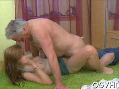 hot  chick screwed by old guy segment video 1
