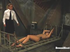 No Escape 2 Maid's Whip Pierces Through Air And Slams Slave