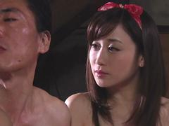 JAV WW2 brothel threesome Maki Hojo Yuu Kawakami in HD